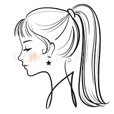 Cartoon Woman Drawing At Getdrawingscom Free For Personal Use