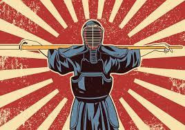 Kendo Sword Martial Arts Fighters Free Vector Download