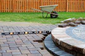 what is the est way to make a patio