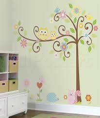 happi scroll tree l stick wall decal megapack