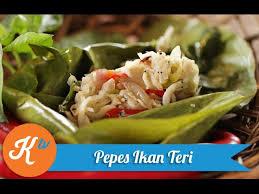 Pepes merupakan masakan yang banyak variasi resepnya. Resep Pepes Ikan Teri Gerry Girianza Youtube