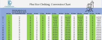 European Size Chart Clothing European Womens Clothing Size Chart All Curvy Sizes