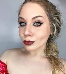 aries glittered fire makeup tutorial