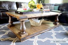 DIY Restoration Hardware Coffee Table Pictures
