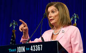 Nancy Pelosi, Done F--king Around ...