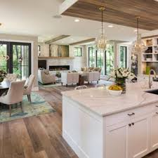 home office country kitchen ideas white cabinets. Transitional Open Concept Kitchen Designs - Light Wood Floor Photo In Minneapolis Home Office Country Ideas White Cabinets