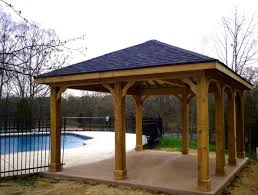 Wood Patio Cover Design Plans free standing patio cover plans