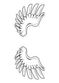 Engelenvleugels Kleurplaat