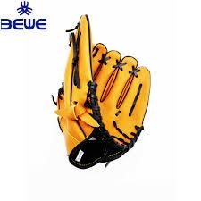 high quality custom design pvc pu cowhide pig skin kid kip leather baseball gloves