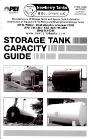 Newberry Tanks Tank Chart Tank Chart Book