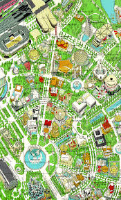 ny fair 64 map 5 map Berlin Sites Map aerial view of this map * berlin tourist sites map