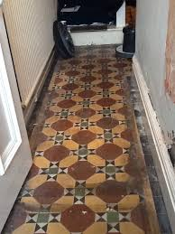victorian floor in kettering before cleaning 2