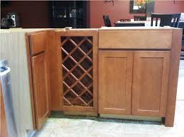 wine rack kitchen cabinet wood designs ideas