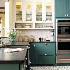 green kitchen cabinets custom ideas unique blue le white with dark countertops green kitchen cabinets