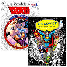 567x794 batman superman coloring page action coloring pages. Superhero Coloring Book For Adults Relaxation Set 2 Pack Advanced Dc Comics Adult Bundle Featuring Superman Batman Wonder Woman And More Educational Toys Planet