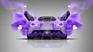 ferrari sergio fantasy heart flowers car