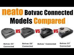 Botvac Comparison Chart Neato Botvac Connected Vs D3 Vs D5 Vs D7 Model Differences