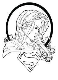 Super Girl Coloring Pages Coloring Pages Coloring Pages Coloring
