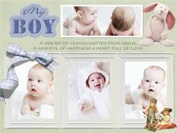 baby collage frame baby collage card add on templates download free
