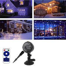 104 Led Snowflake Motion Lights Amazon Com Christmas Lights Laser Lights Christmas