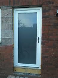pvc opaque glass door nearly new