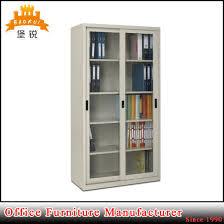 sliding door office cupboard. Fas-018 Steel Sliding Glass Doors Office Cupboard Metal Filing Cabinet Door