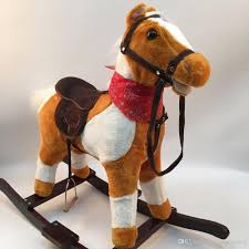 high quality 3 8 years old wooden rocking horses walking horse toys ride on horse toy birthday gifts for boy girl children canada 2019 from happyislandtoy
