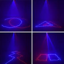 Blue Laser Lights For Sale Aucd 2 Lens Red Blue Rb Beam Pattern Laser Light Dmx 7ch Pro Dj Party Club Bar Ktv Holiday Wedding Stage Lighting Dj 506rb Disco Lights For Sale Dj