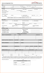 Loan Creditation Template Rev103 Form For Auto Lotcos Loan Car Axis