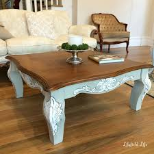 Coffee Tables Painted Coffee Table Ideas Diy Chalk Paint Gecalsa