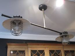 french industrial lighting. mid 20th century french industrial ceiling lights lighting i