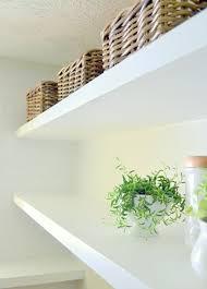 deep floating shelves