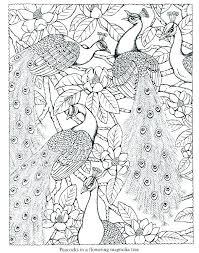 Coloring Pages Peacock Mandala Coloring Pages Printable For Kids