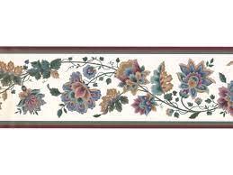 Floral Wallpaper Border DK2133B