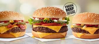 Fresh Beef Burgers Mcdonalds