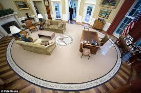 oval office floor.  Floor Changed Up This Is The Picture Taken As Barack Obama Left Oval Office  On Intended Floor