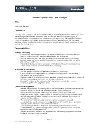 It Job Description Best Photos Of Desk Manual Job Duties Template Sample Job 6