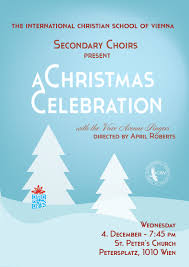Christmas Concert Poster Icsv Secondary Choirs Christmas Concert Poster 2013 Final Draft