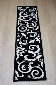 fl runner rug black and white damask rug nice fl runner rug retro classics damask rug