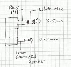 m0wye s blog microphone and speaker connections for tyt md380 the connections are helpfully marked on the pcb so all that was required was a continuity test to which part of the jack plug was connected to which