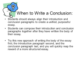 conclusion to a persuasive essay co conclusion