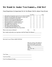 Event Feedback Form In Pdf Client Survey Form On Line Windy City Hitman BlogChicago Wedding DJs 9