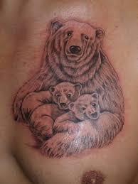 тату медведь значение и история магия любви