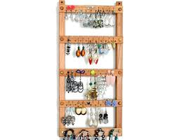 tom s earring holders cherry jewelry display with necklace rack