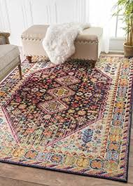 best 5 x 7 rugs inspirational traditional vintage vibrant meadow multi area rugs 5 feet 3