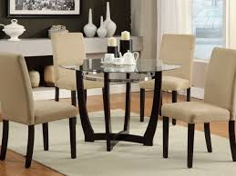 dining room round glass dining room tables 32 superb table 40 awesome glass dinner table