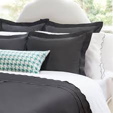 charcoal grey bedding. Modren Charcoal Bedroom Inspiration And Bedding Decor  The Peninsula Charcoal Grey Duvet  Cover Crane Canopy For Bedding R
