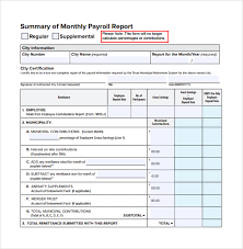 Monthly Report Template Word Sample Monthly Report Template 100 Free Documents in Word PDF 8