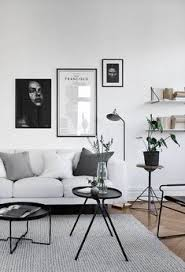 a hint of black for your minimalist home daily dream decor