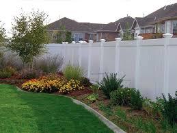 white privacy fence ideas. Classic White Privacy Fence Ideas E